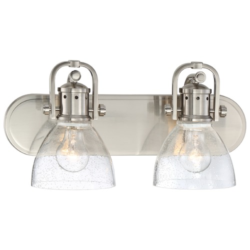 Minka Lighting Minka Brushed Nickel Bathroom Light 3412-84