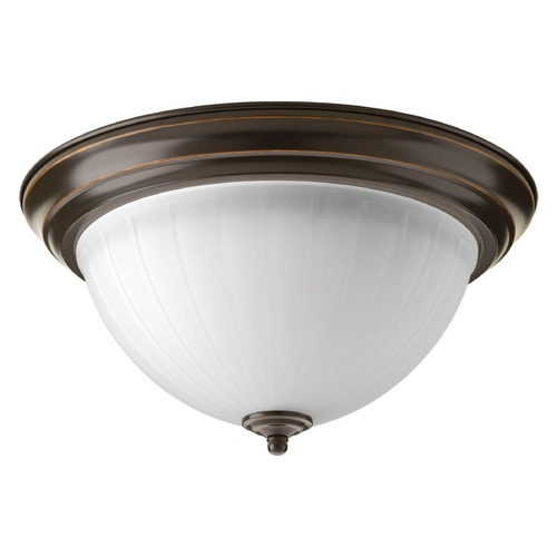 Progress Lighting Progress Lighting LED Flush Mount Antique Bronze LED Flushmount Light P2305-2030K9