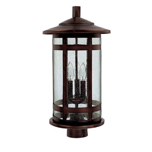 Capital Lighting Capital Lighting Mission Hills Burnished Bronze Post Light 9955BB