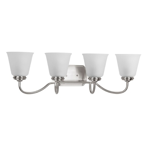 Progress Lighting Progress Lighting Keats Brushed Nickel Bathroom Light P2822-09