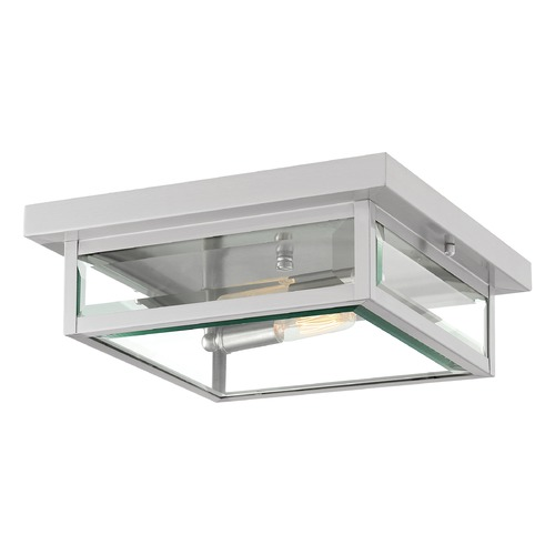 Quoizel Lighting Quoizel Lighting Westover Stainless Steel Close To Ceiling Light WVR1612SS