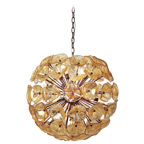 ET2 Lighting Modern Pendant Light in Bronze Finish E22094-26