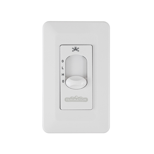 Fanimation Fans Control in White Finish CW3WH-CA