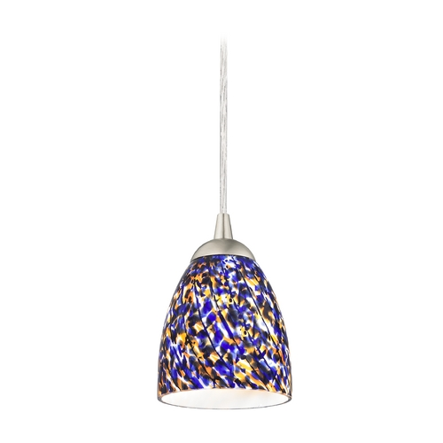Design Classics Lighting Modern Mini-Pendant Light 582-09 GL1009MB