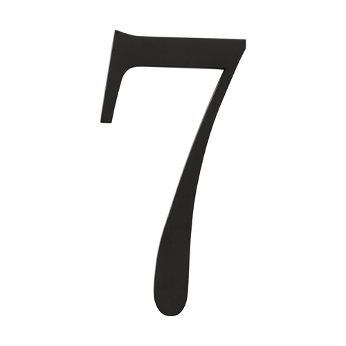 Atlas Homewares House Number in Black Finish TRN7-BL