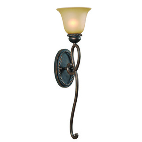Jeremiah Lighting Jeremiah Highland Place Mocha Bronze Sconce 25231-MB