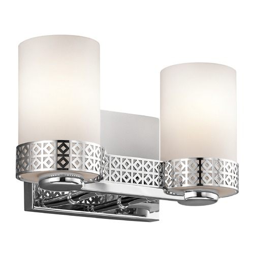 Kichler Lighting Kichler Lighting Contessa Chrome Bathroom Light 45559CH