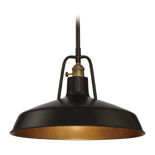 Quoizel Lighting Quoizel Railway Imperial Bronze Pendant Light RLY1815IB