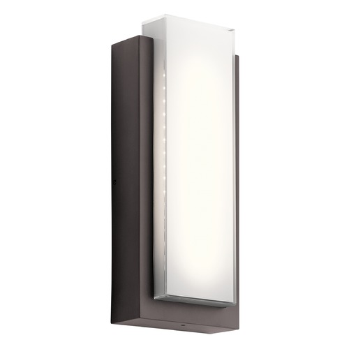 Kichler Lighting Kichler Lighting Dahlia LED Outdoor Wall Light 49557AZLED