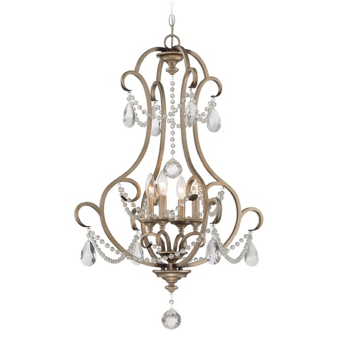 Designers Fountain Lighting Designers Fountain Gala Argent Silver Chandelier 86054-ARS
