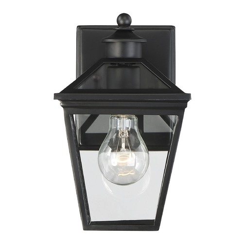Savoy House Savoy House Lighting Ellijay Black Outdoor Wall Light 5-140-BK