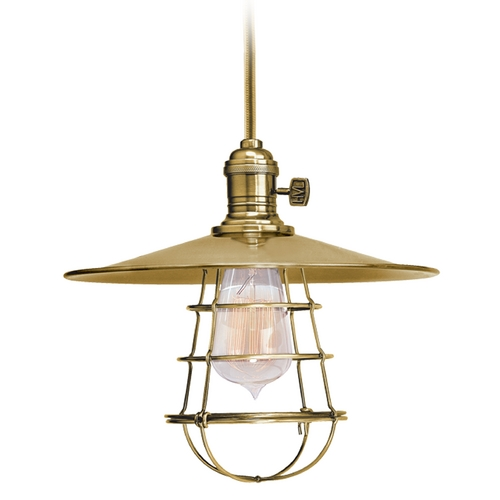 Hudson Valley Lighting Mini-Pendant Light 8002-AGB-MS1-WG