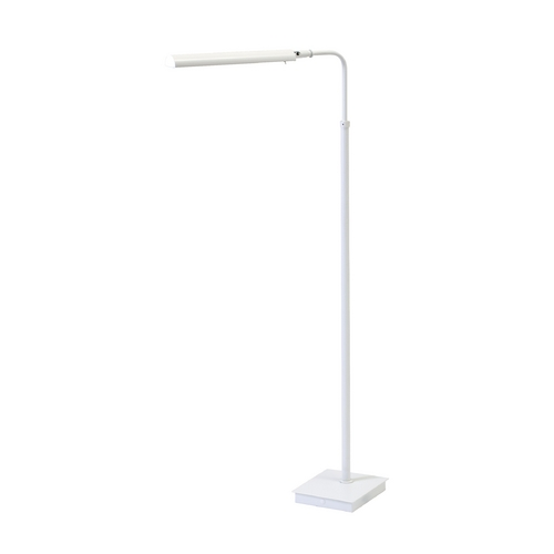 House of Troy Lighting Modern LED Floor Lamp in White Finish G300-WT