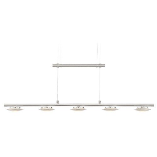 Arnsberg Arnsberg Santiago Matte Nickel LED Island Light 378510507D