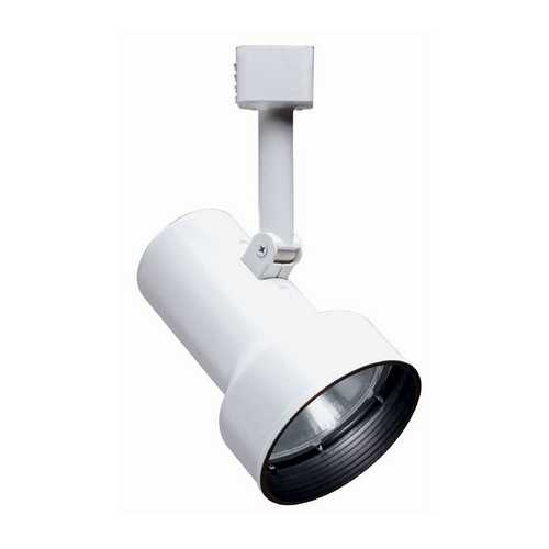 Juno Lighting Group Modern Track Light Head in White Finish R511 BLB WH