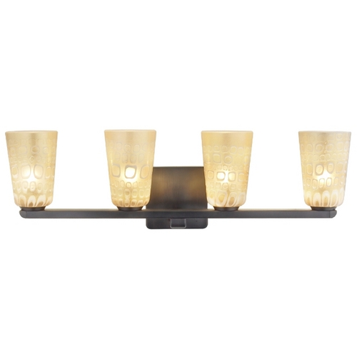 Oggetti Lighting Oggetti Lighting Carnivale Dark Bronze Bathroom Light 22-5619F
