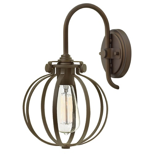 Hinkley Lighting Hinkley Lighting Congress Oil Rubbed Bronze Sconce 3118OZ