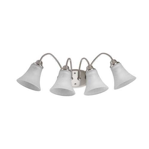 Progress Lighting Progress Lighting Tally Brushed Nickel Bathroom Light P2764-09
