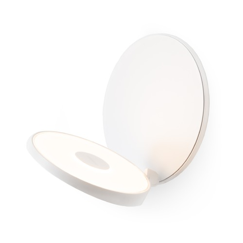 Koncept Lighting Koncept Technologies Gravy Matte White LED Sconce GRW-S-MWT-MWT-HW
