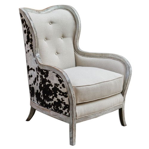 Uttermost Lighting Uttermost Chalina High Back Armchair 23611