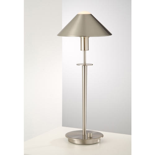 Holtkoetter Lighting Holtkoetter Modern Table Lamp in Satin Nickel Finish 6504 SN