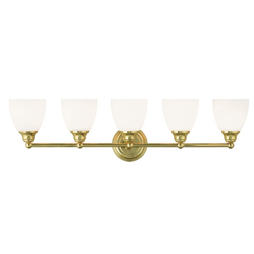 Livex Lighting Livex Lighting Somerville Polished Brass Bathroom Light 13665-02