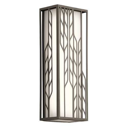 Kichler Lighting Kichler Lighting Magnolia LED Outdoor Wall Light 49605OZLED