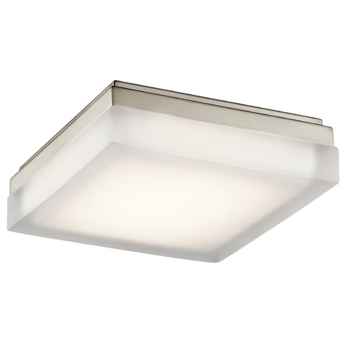 Elan Lighting Elan Lighting Arston Brushed Nickel LED Flushmount Light 83799