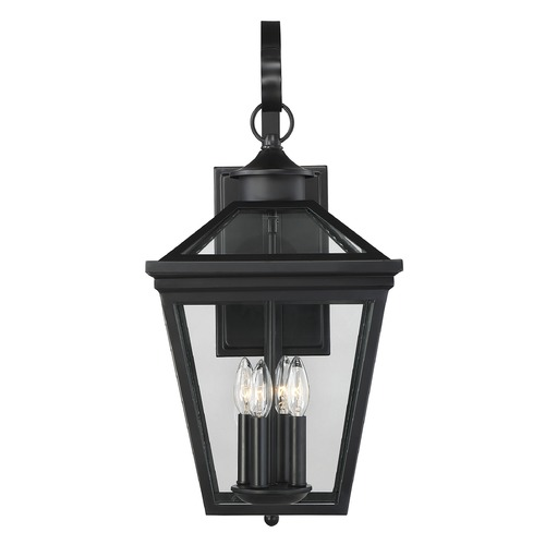 Savoy House Savoy House Lighting Ellijay Black Outdoor Wall Light 5-142-BK