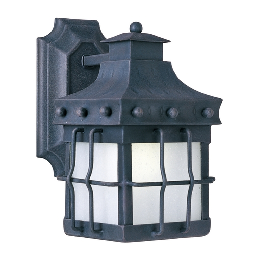 Maxim Lighting Maxim Lighting Nantucket Ee Country Forge Outdoor Wall Light 86081FSCF