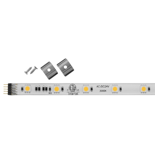 Progress Lighting 120V LED Tape Light 12-Inch 3000K White by Progress Lighting P7040-30