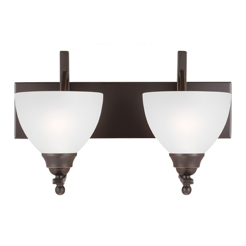 Sea Gull Lighting Sea Gull Lighting Vitelli Autumn Bronze Bathroom Light 4431402-715