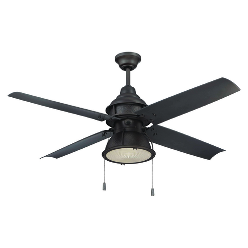Craftmade Lighting Craftmade Lighting Port Arbor Espresso Ceiling Fan with Light PAR52ESP4