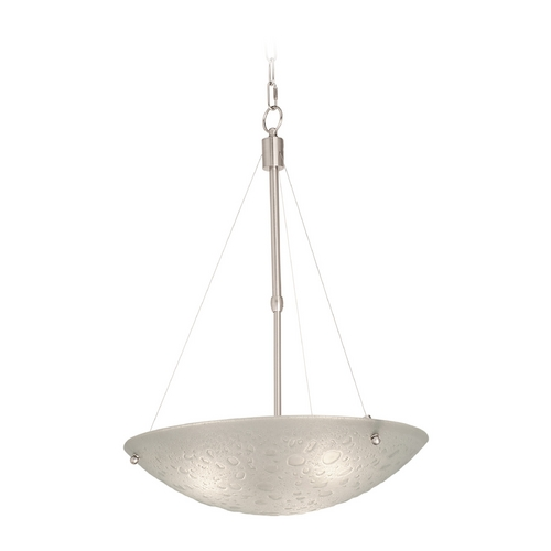 Kalco Lighting Kalco Lighting Cirrus Satin Nickel Pendant Light 5091SN
