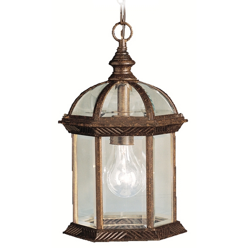 Kichler Lighting Kichler Outdoor Hanging Light in Tannery Bronze Finish 9835TZ