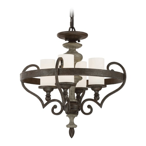 Savoy House Savoy House Lighting Strathmore Century Bronze Chandelier 6-743-4-09