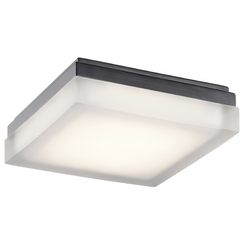 Elan Lighting Elan Lighting Arston Bronze LED Flushmount Light 83800