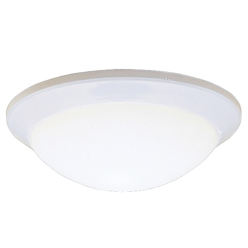 Kichler Lighting Kichler Modern Flushmount Light with White Glass in White Finish 8881WH