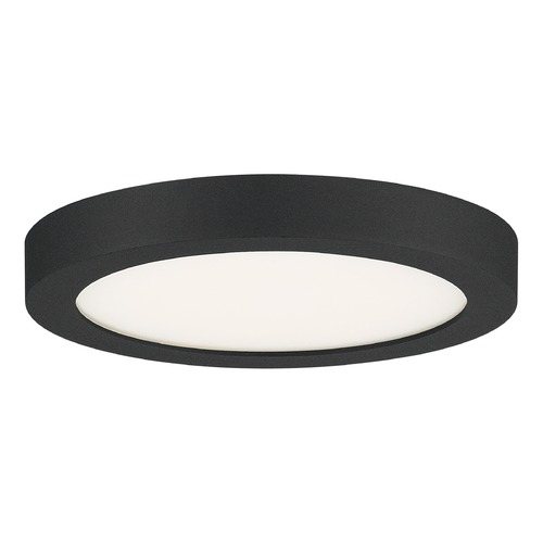 Quoizel Lighting Quoizel Lighting Outskirts Earth Black LED Flushmount Light OST1708EK