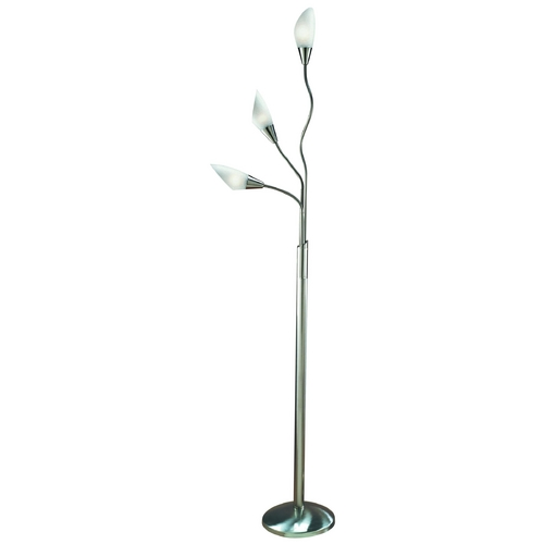 Lite Source Lighting Lite Source Lighting Crackler Floor Lamp LS-9526PS/WHT