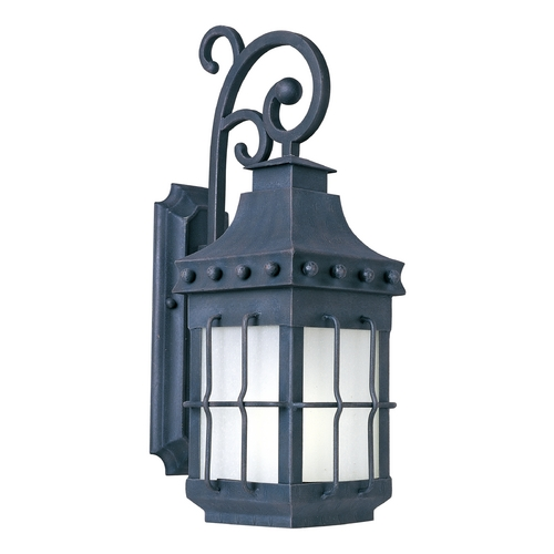 Maxim Lighting Maxim Lighting Nantucket Ee Country Forge Outdoor Wall Light 86084FSCF