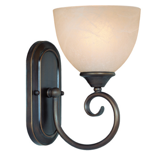 Jeremiah Lighting Jeremiah Raleigh Old Bronze Sconce 25301-OB