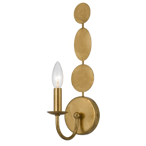 Crystorama Lighting Crystorama Lighting Layla Antique Gold Sconce 541-GA