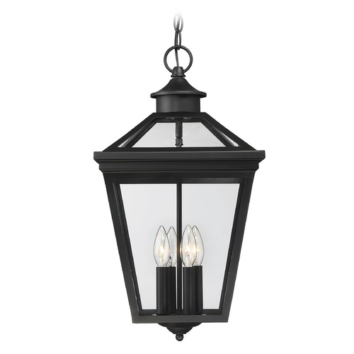 Savoy House Savoy House Lighting Ellijay Black Outdoor Hanging Light 5-145-BK