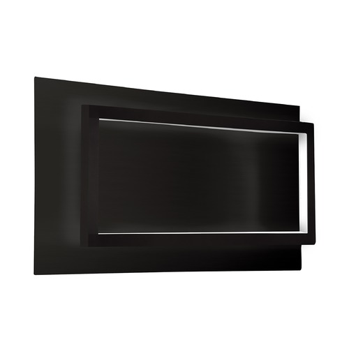 Kuzco Lighting Kuzco Lighting Modern Black LED Sconce 3000K 660LM WS16116-BK