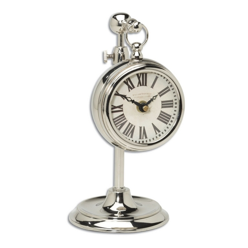 Uttermost Lighting Clock in Nickel Finish 06070