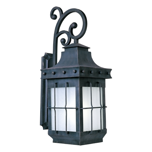 Maxim Lighting Maxim Lighting Nantucket Ee Country Forge Outdoor Wall Light 86085FSCF
