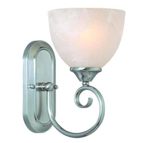 Craftmade Lighting Craftmade Raleigh Satin Nickel Sconce 25301-SN