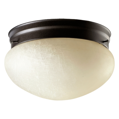 Quorum Lighting Quorum Lighting Oiled Bronze Flushmount Light 3027-8-86