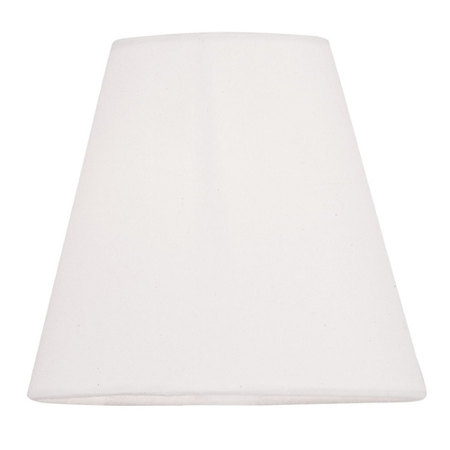 Livex Lighting Hand-Made Off-White Linen Hardback Clip-On Lamp Shade S341